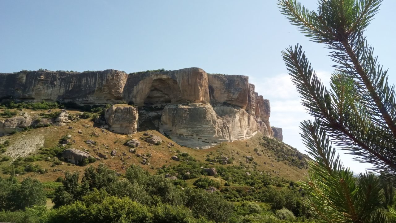 города в пещерах Бахчисарай фото