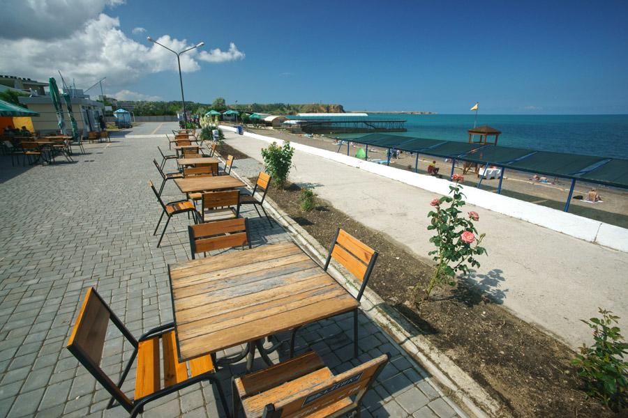 Пляжи в поселке Песчаное Крым фото